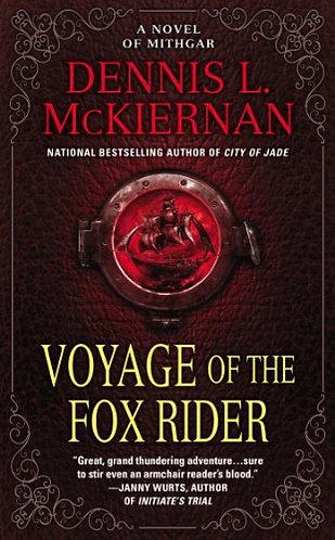 Voyage Of The Fox Rider by Mckiernan Dennis