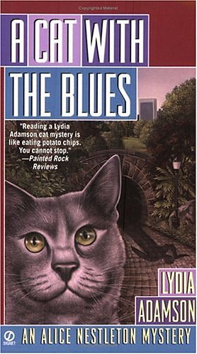 A Cat With The Blues by Adamson Lyd