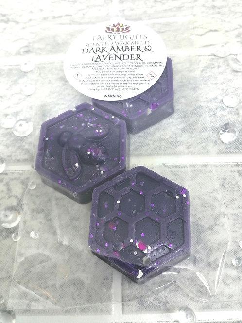 Dark Amber & Lavender