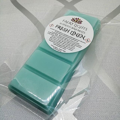 wax melts, scented wax, home fragrance, fresh linen, laundry, uk wax melts, wax vendor