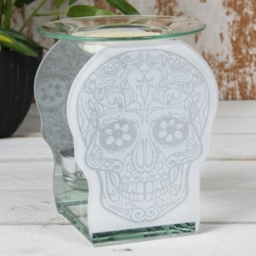 Glass Skull Warmer