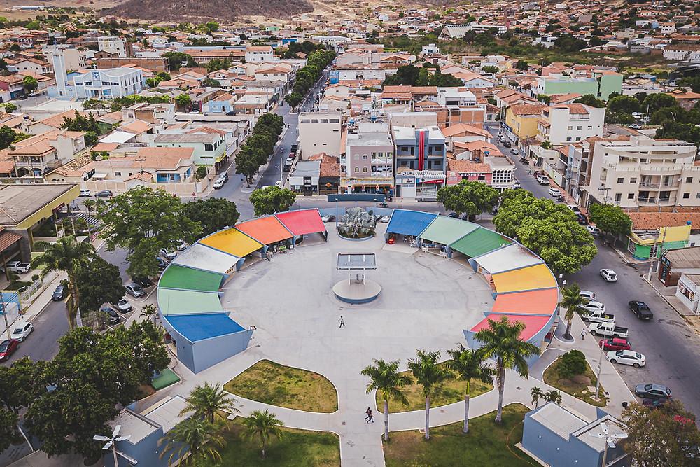 Praça Odilon Coelho  - Outubro de 2019