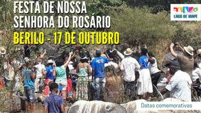 Festa da Nossa Senhora do Rosário em Berilo