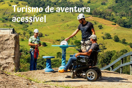 Turismo de aventura acessível