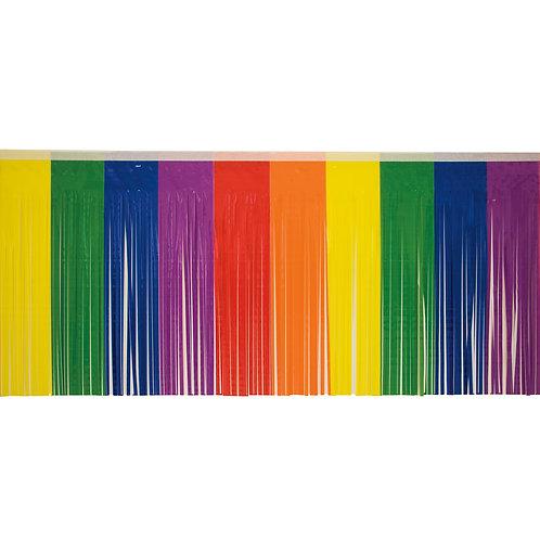 Rainbow Fringe 10 ft