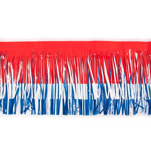 Red/White/Blue Fringe 10 ft