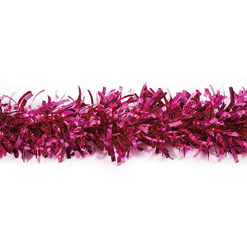 Metalic Cerise Festooning/ Twist 25 ft