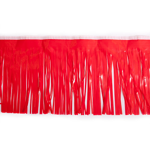 Red Fringe 10 ft