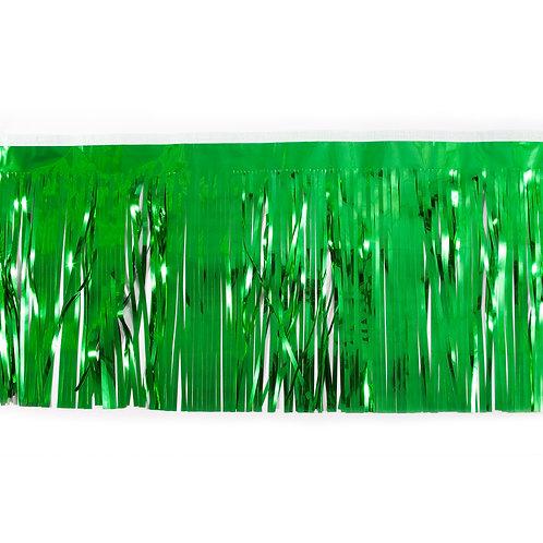 Metalic Green Fringe 10 ft