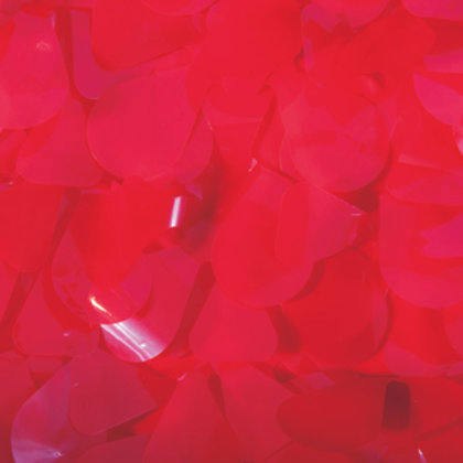 Red Floral Sheeting