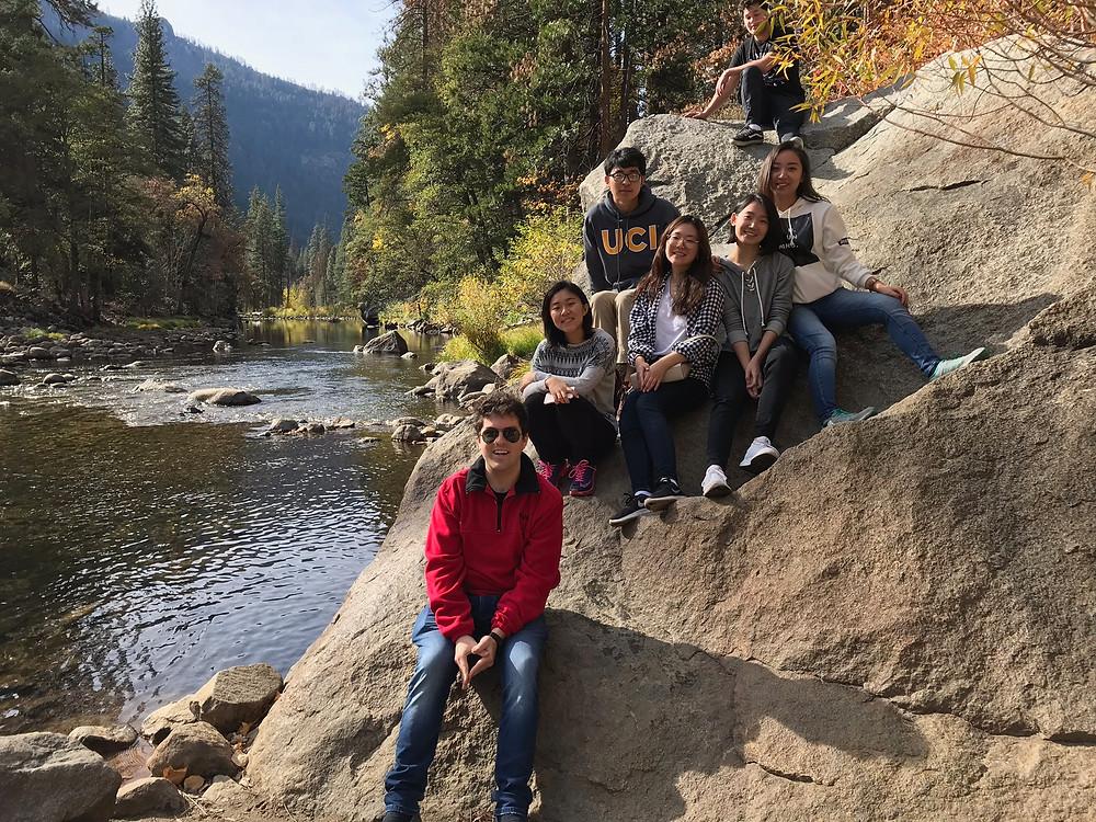 Yosemite Trip Friends