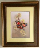 Бабочка на почках