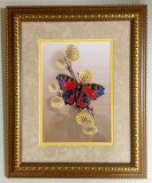 Бабочка на почках 2