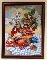 Натюрморт с джемом и фруктовым вареньем