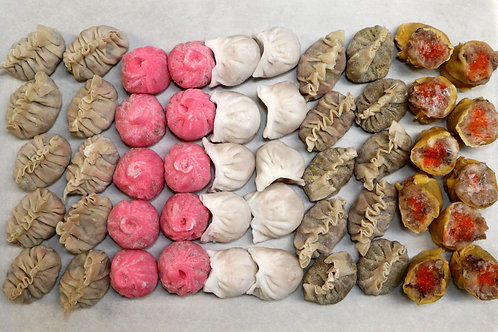Meat & Seafood Dim Sum Variety Pack 50/pcs