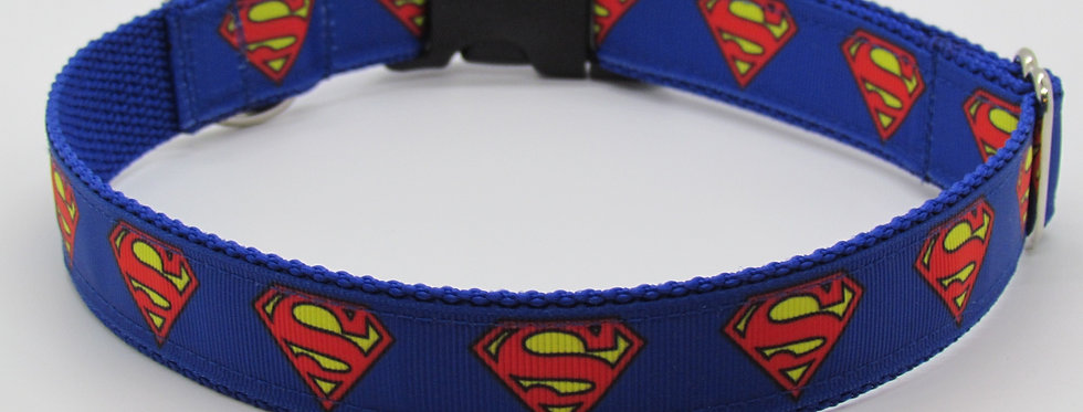 copy of Superman Inspired Dog Collar