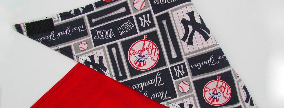 New York Yankees Inspired Reversible Dog Bandana