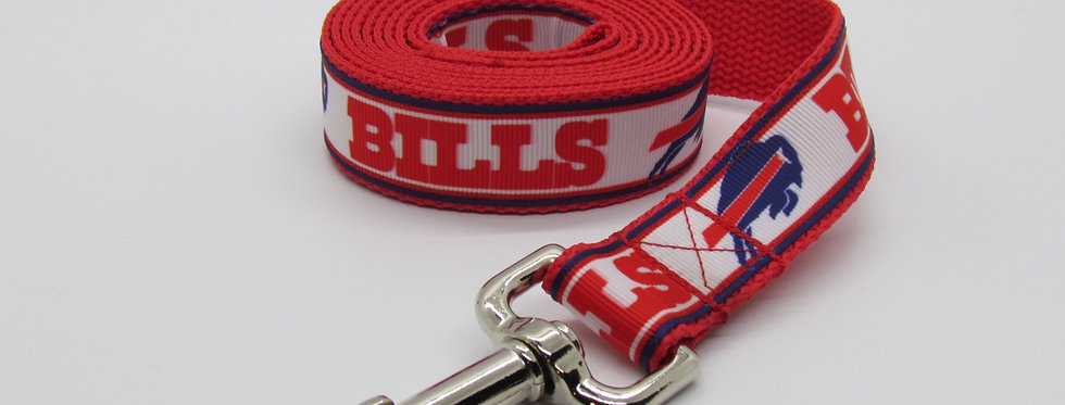 Buffalo Bills Inspired Dog Leash