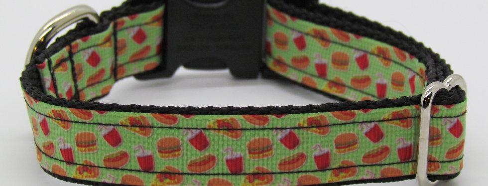 Small Fast Food Dog Collar