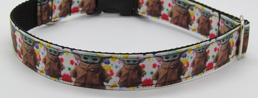 Baby Yoda Star Wars Inspired Dog Collar