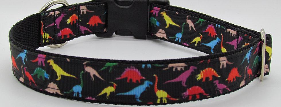 Dinosaurs Dog Collar