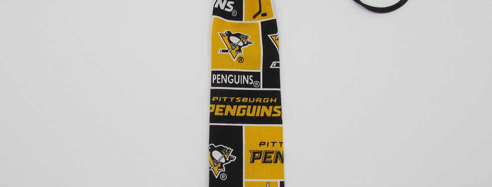 Pittsburg Penguins Inspired Neck Tie