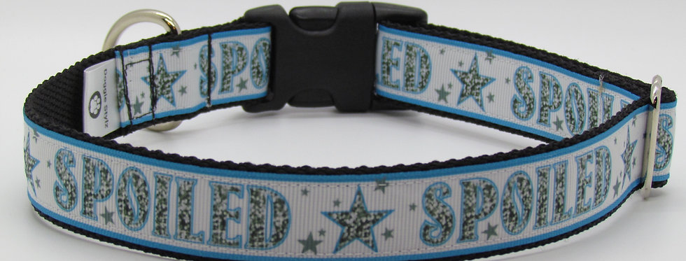 Spoiled (Blue) Dog Collar