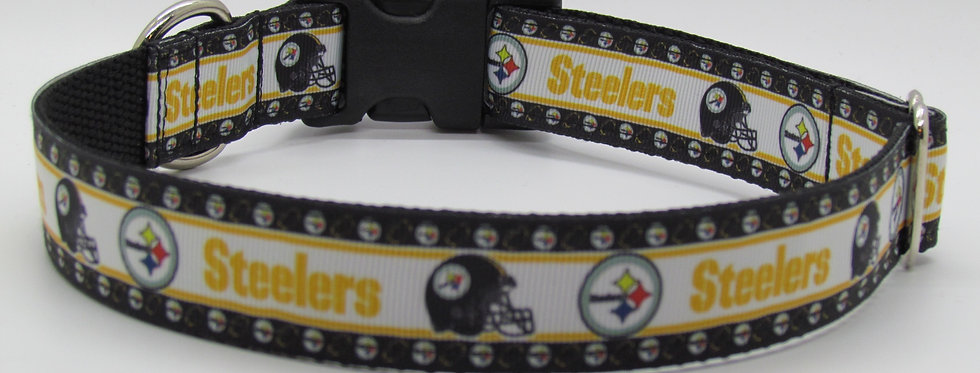 Pittsburg Steelers Inspired Dog Collar