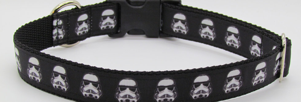 Storm Troopers Star Wars Inspired Dog Collar