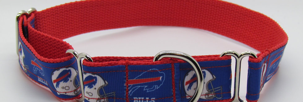 Buffalo Bills (Blue) Inspired Martingale Dog Collar