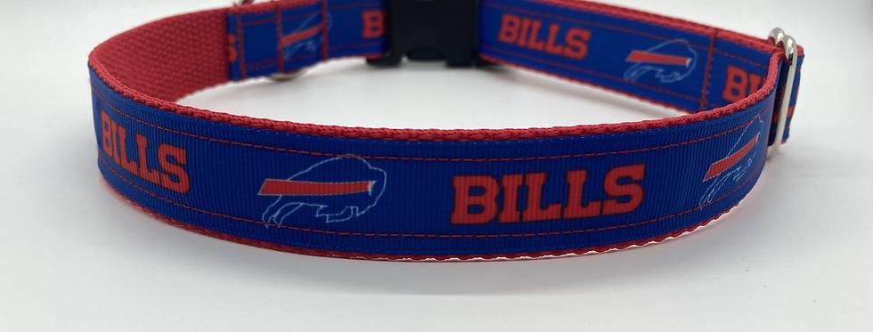 Buffalo Bills (Red) Inspired Dog Collar