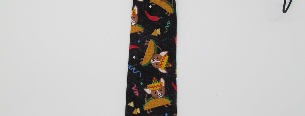 Taco Dogs Dog Neck Tie