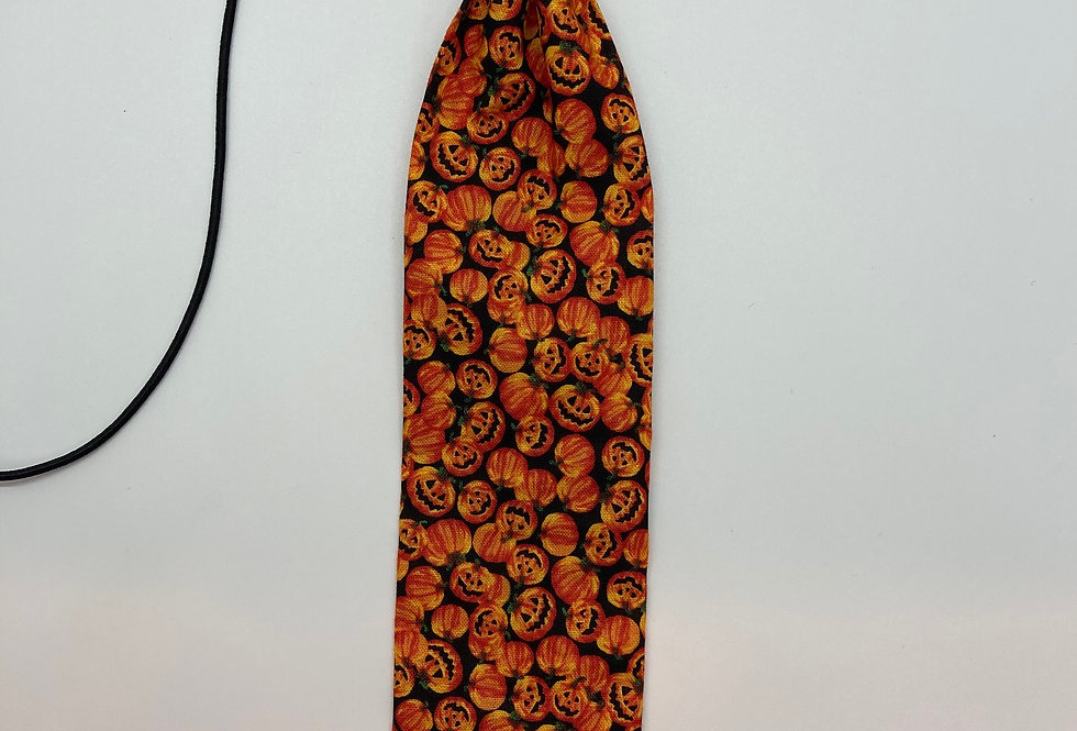 Halloween Jack O Lanterns Dog Neck Tie