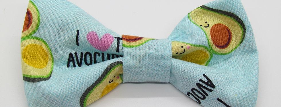 Avocado Dog Bow Tie