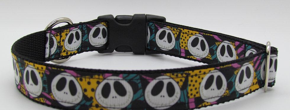 Jack Skellington Sally Jack Inspired (Halloween) Dog Collar