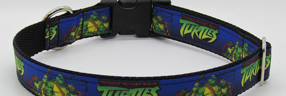 Teenage Mutant Ninja Turtles Inspired Dog Collar
