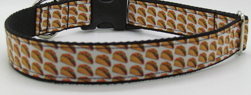 Taco Dog Collar