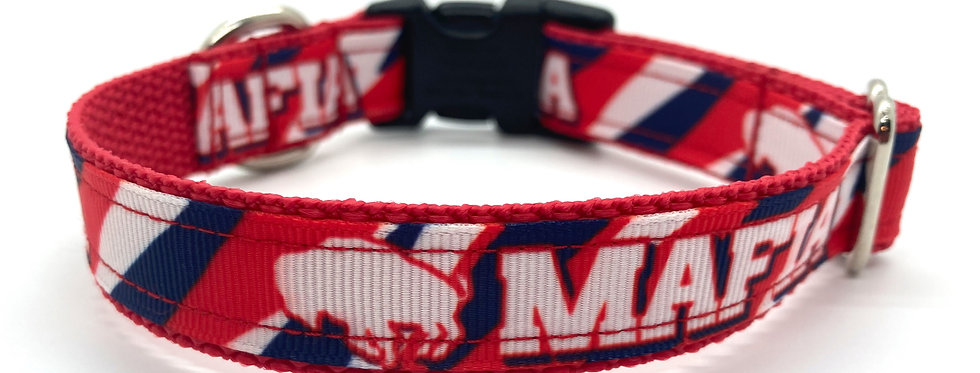 Exclusive Original Doggie Stylz Buffalo Mafia Small Dog Collar
