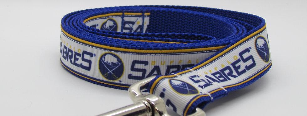Buffalo Sabres Inspired Dog Leash