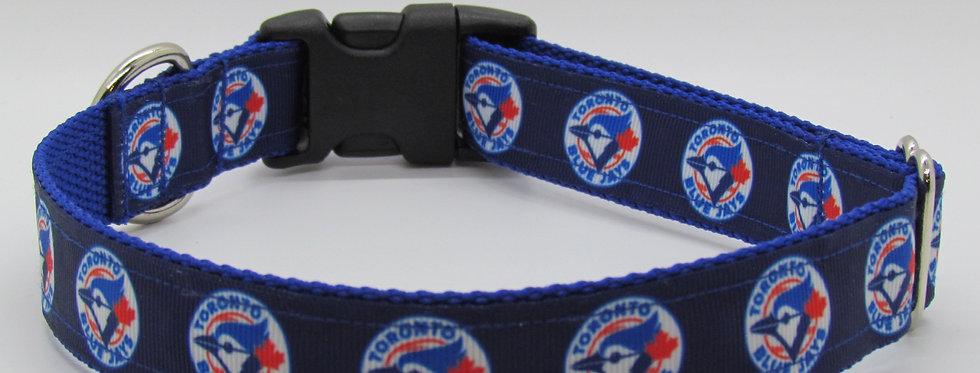Toronto Blue Jays Inspired Dog Collar