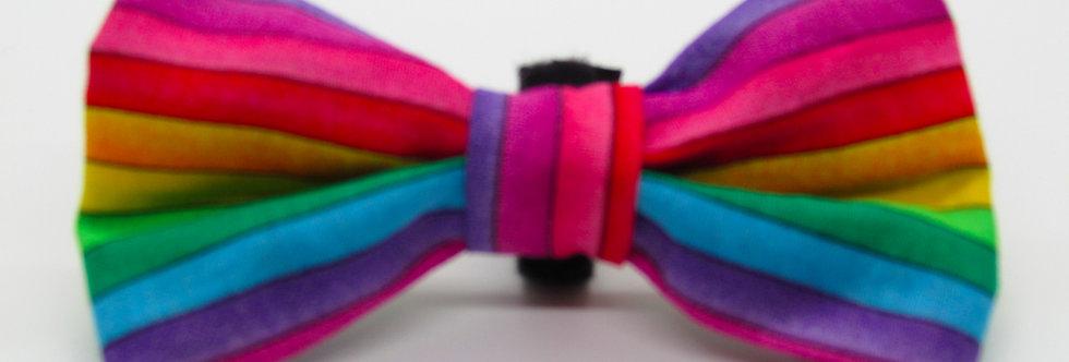 Gay Pride Dog Bow Tie