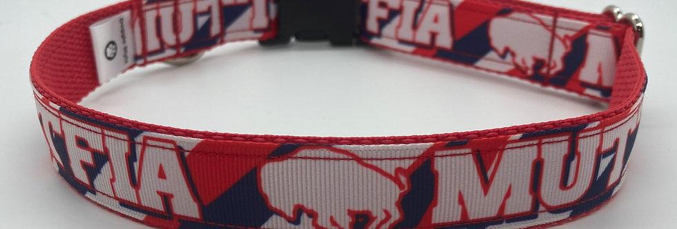 Exclusive Original Doggie Stylz Buffalo Muttfia Dog Collar