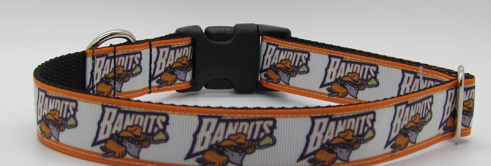 Buffalo Bandits Inspired Dog Collar