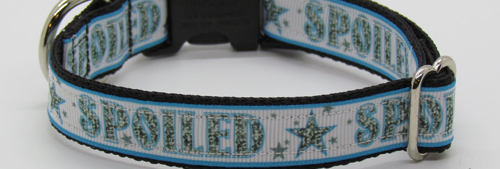 Small Spoiled (Blue) Dog Collar