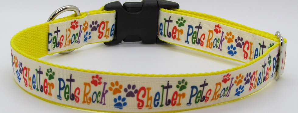 Shelter Pets Dog Collar