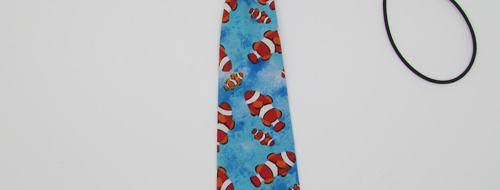 Fishies Dog Neck Tie