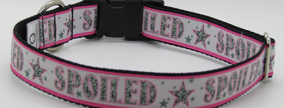 Spoiled (Pink) Dog Collar
