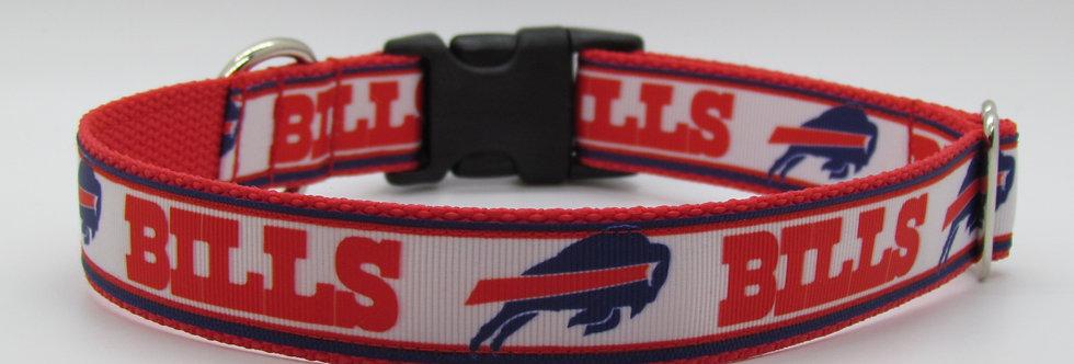 Buffalo Bills Inspired Dog Collar