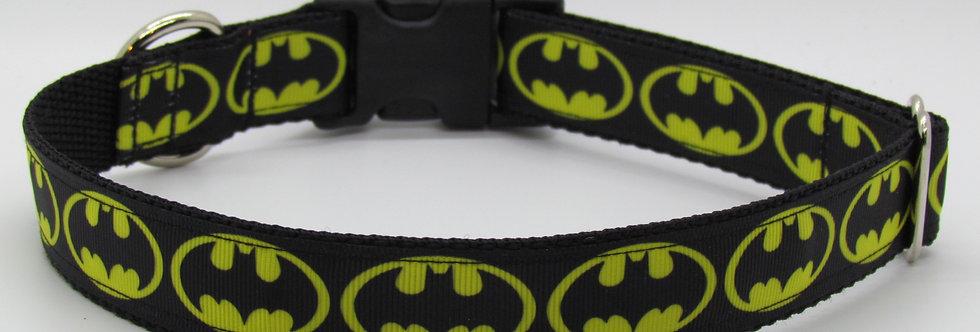 Batman Inspired Dog Collar
