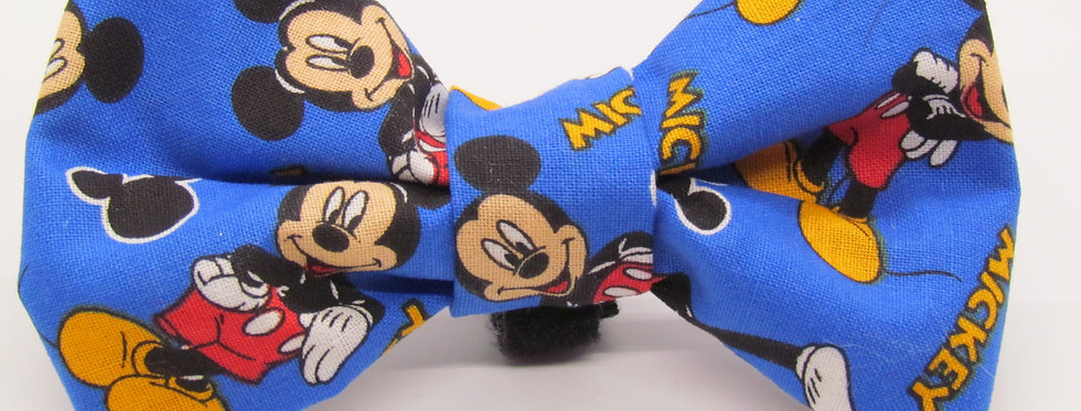 Mickey Inspired Dog Bow Tie